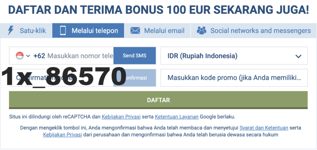 1xbet Indonesia   alternative link & promo code 2020